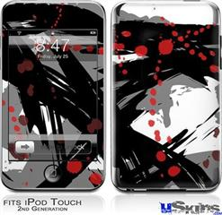 iPod Touch 2G & 3G Skin - Abstract 02 Red