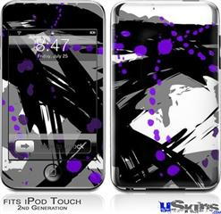 iPod Touch 2G & 3G Skin - Abstract 02 Purple