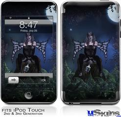iPod Touch 2G & 3G Skin - Kathy Gold - Bad To The Bone 1