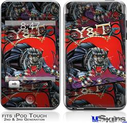 iPod Touch 2G & 3G Skin - Y&T Black Tiger Covers