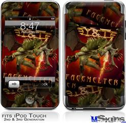 iPod Touch 2G & 3G Skin - Y&T Facemelter Covers