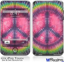 iPod Touch 2G & 3G Skin - Tie Dye Peace Sign 103