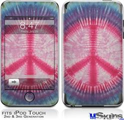 iPod Touch 2G & 3G Skin - Tie Dye Peace Sign 108