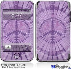 iPod Touch 2G & 3G Skin - Tie Dye Peace Sign 112