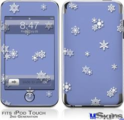 iPod Touch 2G & 3G Skin - Snowflakes