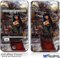 iPod Touch 2G & 3G Skin - Time Traveler