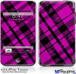 iPod Touch 2G & 3G Skin - Pink Plaid