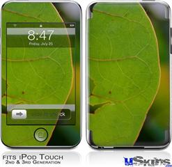 iPod Touch 2G & 3G Skin - To See Through Leaves