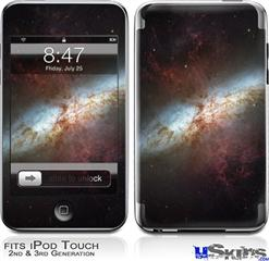 iPod Touch 2G & 3G Skin - Hubble Images - Starburst Galaxy