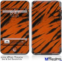 iPod Touch 2G & 3G Skin - Tie Dye Bengal Side Stripes