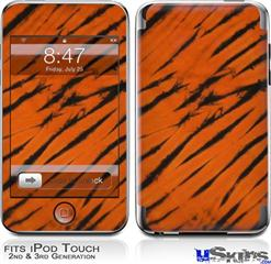 iPod Touch 2G & 3G Skin - Tie Dye Bengal Belly Stripes