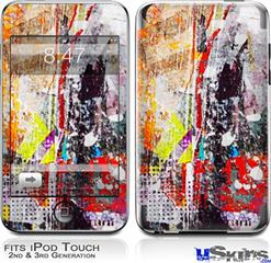 iPod Touch 2G & 3G Skin - Abstract Graffiti