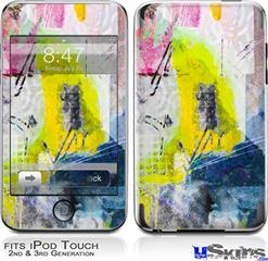 iPod Touch 2G & 3G Skin - Graffiti Graphic