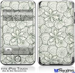 iPod Touch 2G & 3G Skin - Flowers Pattern 05