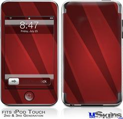 iPod Touch 2G & 3G Skin - VintageID 25 Red