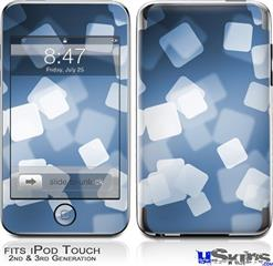 iPod Touch 2G & 3G Skin - Bokeh Squared Blue