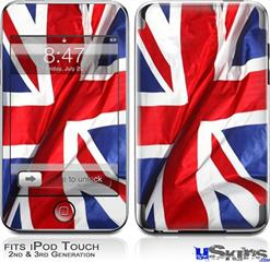 iPod Touch 2G & 3G Skin - Union Jack 01