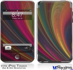 iPod Touch 2G & 3G Skin - Fractal Curv