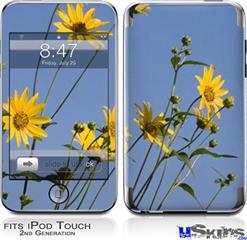 iPod Touch 2G & 3G Skin - Yellow Daisys