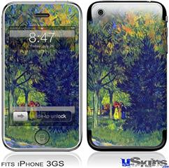 iPhone 3GS Skin - Vincent Van Gogh Allee in the Park