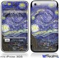iPhone 3GS Skin - Vincent Van Gogh Starry Night