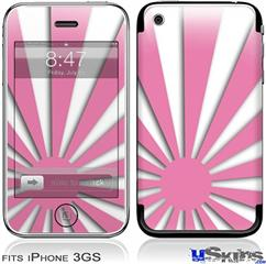 iPhone 3GS Skin - Rising Sun Japanese Pink