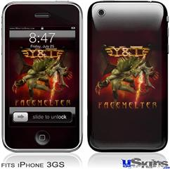 iPhone 3GS Skin - Y&T Facemelter