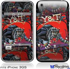 iPhone 3GS Skin - Y&T Black Tiger Covers