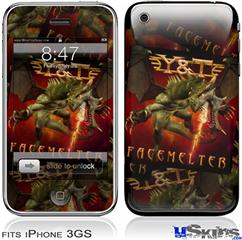 iPhone 3GS Skin - Y&T Facemelter Covers