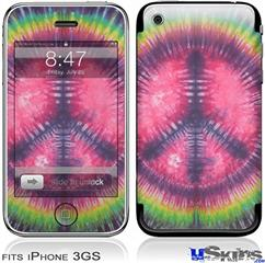 iPhone 3GS Skin - Tie Dye Peace Sign 103