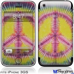 iPhone 3GS Skin - Tie Dye Peace Sign 104