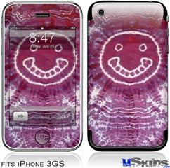 iPhone 3GS Skin - Tie Dye Happy 100