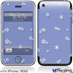 iPhone 3GS Skin - Snowflakes