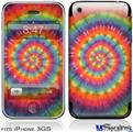 iPhone 3GS Skin - Tie Dye Swirl 107