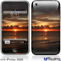 iPhone 3GS Skin - Set Fire To The Sky
