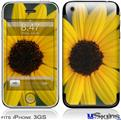 iPhone 3GS Skin - Yellow Daisy