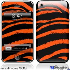 iPhone 3GS Skin - Zebra Orange