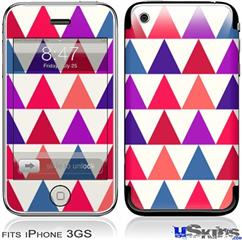 iPhone 3GS Skin - Triangles Berries