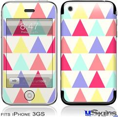 iPhone 3GS Skin - Triangles Light