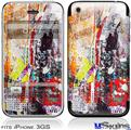 iPhone 3GS Skin - Abstract Graffiti