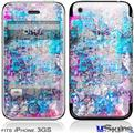 iPhone 3GS Skin - Graffiti Splatter