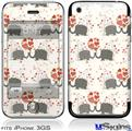 iPhone 3GS Skin - Elephant Love