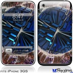 iPhone 3GS Skin - Spherical Space