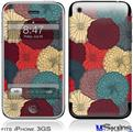 iPhone 3GS Skin - Flowers Pattern 04