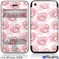 iPhone 3GS Skin - Flowers Pattern Roses 13