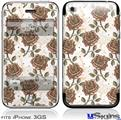 iPhone 3GS Skin - Flowers Pattern Roses 20