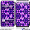 iPhone 3GS Skin - Daisies Purple