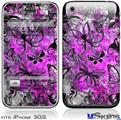 iPhone 3GS Skin - Butterfly Graffiti