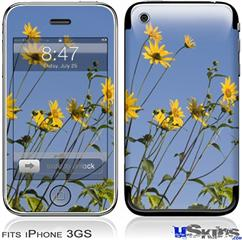 iPhone 3GS Skin - Yellow Daisys