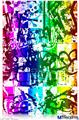 "Poster 24""x36"" - Rainbow Graffiti"